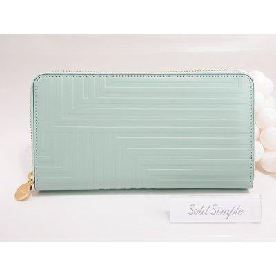 【Kate Spade Saturday】正品包郵 現貨 Rectangle Wallet 湖水綠色牛皮長銀包 生日禮物 美國代購 有相位 原裝包裝
