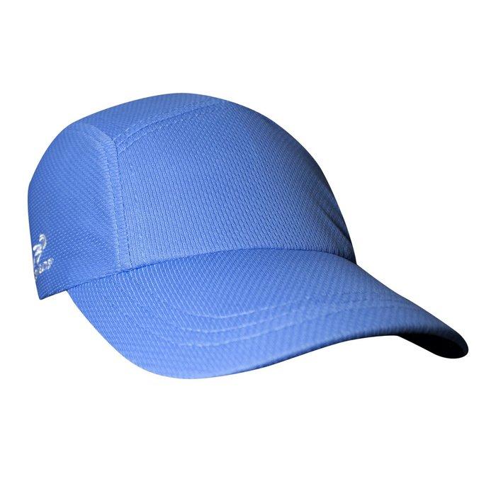 騎跑泳者 - HEADSWEATS 汗淂 (全球運動帽領導品牌) Race Hat 淺藍 運動帽 透氣 舒適