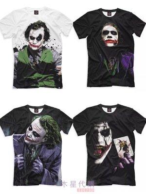 【木星代購】《英美代購 經典百大電影 蝙蝠俠 黑暗騎士 小丑 希斯萊傑 短袖 T-Shirt 四款 男 預購》t恤