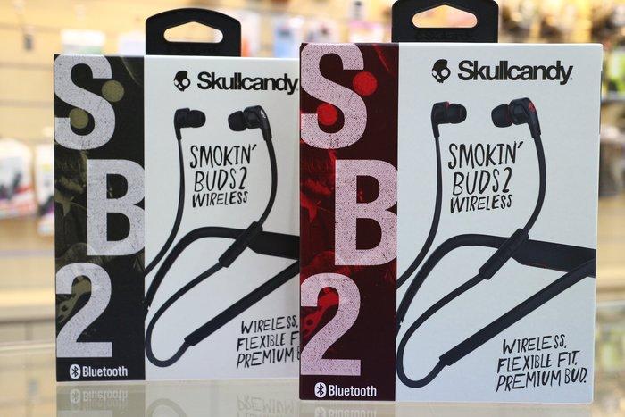 【日產旗艦】美國 正版 Skullcandy 骷髏糖 潮牌 藍芽耳機 SB2 麥克風 入耳式耳機 線控耳機 台閔公司貨