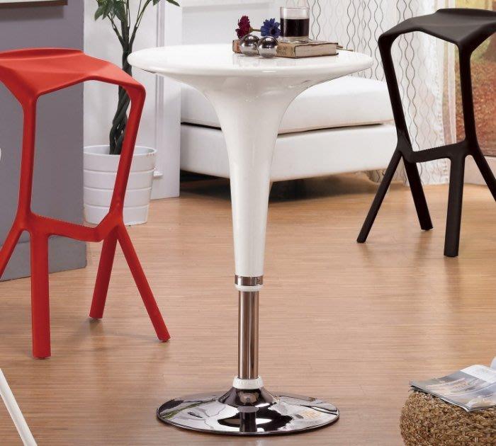 【DH】商品編號G1009-2商品名稱蒂珊2尺圓桌(圖一)直徑60.5 高71~91CM。可升降。不含椅。主要地區免運費