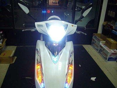 奔騰G5/勁戰/GP/GTR AERO/BWS 改HID~可遠近燈切換~焦距超準~足40w 特級型