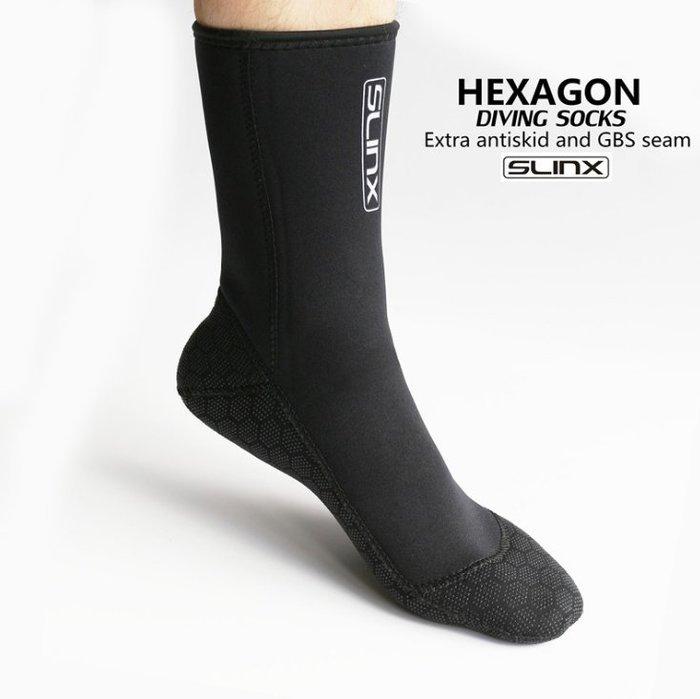 【購物百分百】3MM男女潛水襪 浮潛襪 沙灘襪 成人彈力速幹長襪 輕便防滑遊泳鞋襪(不單賣)
