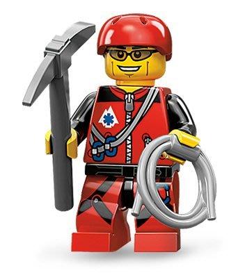 絕版品【LEGO 樂高】玩具 積木/ Minifigures人偶包系列: 11代 71002 單一人偶: 登山客 救難員