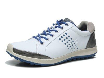 正品ECCO愛步男鞋 運動休閑健步高爾夫球鞋 GOLF BIOM HYBRID2 151514