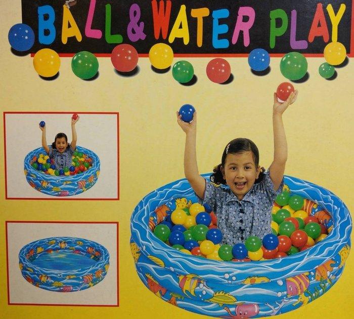 歡樂泳池 ~兒童專用游泳池 ~球屋/遊戲球池~搭配溜滑梯使用更好玩90*30公分~不含球賣場~◎童心玩具1館◎