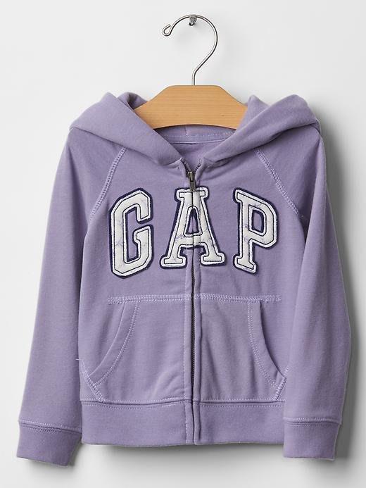 ❤真品櫃~保證真品❤美國GAP LOGO紫色甜美連帽外套2t 2歲~另有Carters