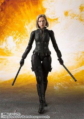 日版 萬代 SHF 漫威 復仇者聯盟3 無限戰爭 Black Widow 黑寡婦