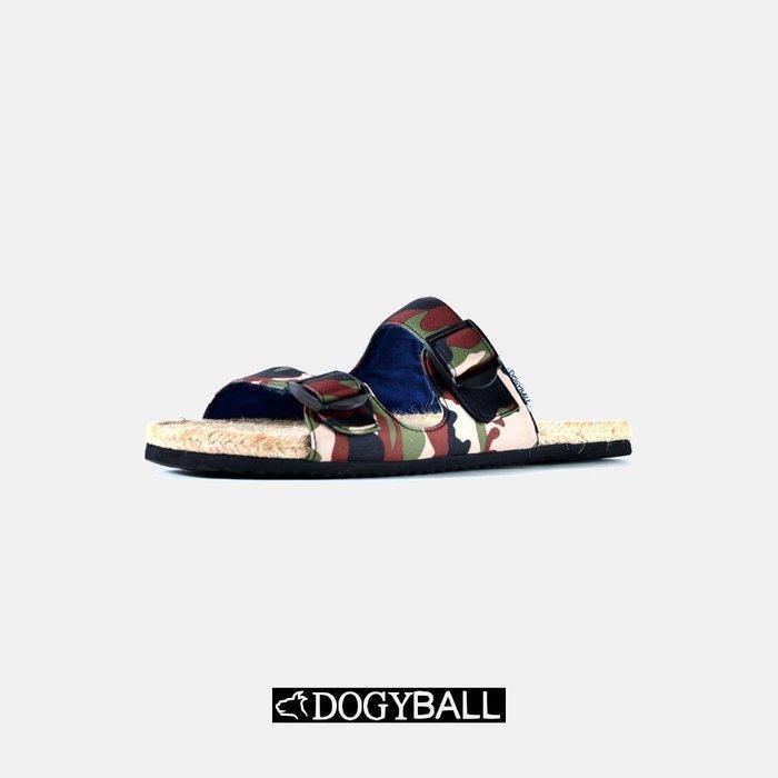 【Dogyball】簡單穿搭 輕鬆生活簡約迷彩草編涼拖鞋三配色限定內附旅行鞋套鞋用清潔小物 免運費