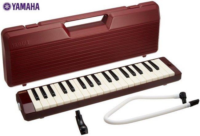 ☆ 唐尼樂器︵☆ YAMAHA P-37D 37鍵口風琴(原廠公司貨)附贈短管、長管、攜帶盒
