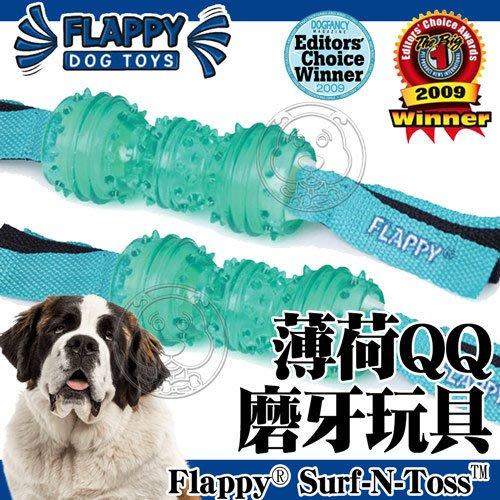 【🐱🐶培菓寵物48H出貨🐰🐹】美國FLAPPY》FL-29810薄荷QQ磨牙狗玩具中大型犬用-L號 特價488元