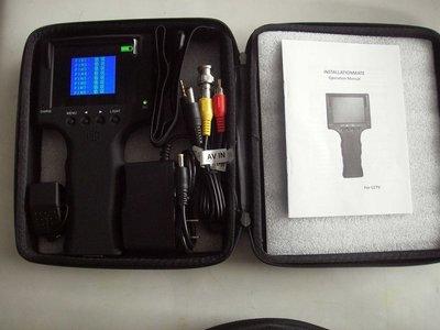 【Mr&Miss】附發票 3.5吋LCD 手腕式液晶 測試鏡頭 AV IN 工程寶 網路測線 監控測試小電視 小螢幕 針 桃園市