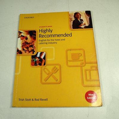 【考試院二手書】《Highly Recommended》ISBN:0194574636│Oxford七成新(22Z51)