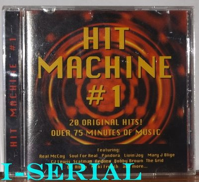 正版CD / HIT MACHINE #1 / 舞曲合輯 歐陸舞曲風