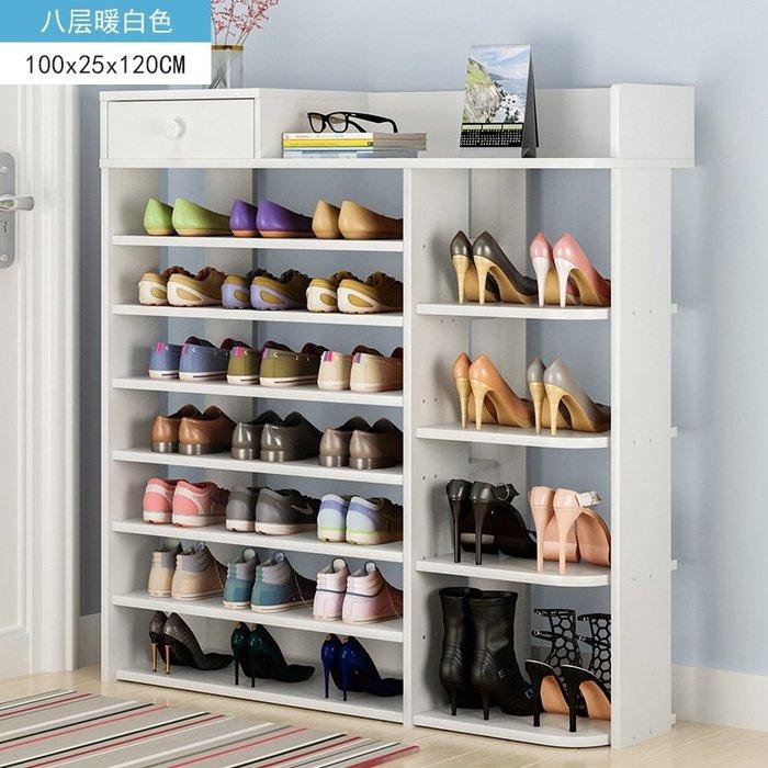 [新品]鞋架 簡易家用多層鞋櫃經濟型多功能家裏人門口小鞋架子特價省空間  〖影時代〗