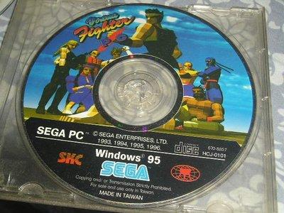 WIN95/98老遊戲 -- SEGA第1代 VR快打 (台灣製)