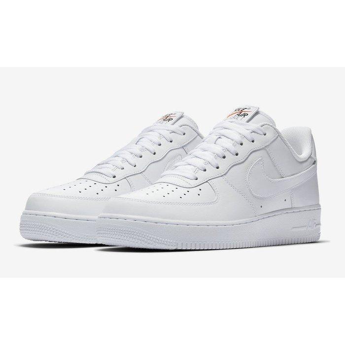 Nike Air Force 1 Swoosh Pack潮流時尚慢跑運動鞋男女(AH8462-102)白