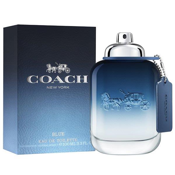 【美妝行】Coach BLUE 時尚藍調男性淡香水 100ml
