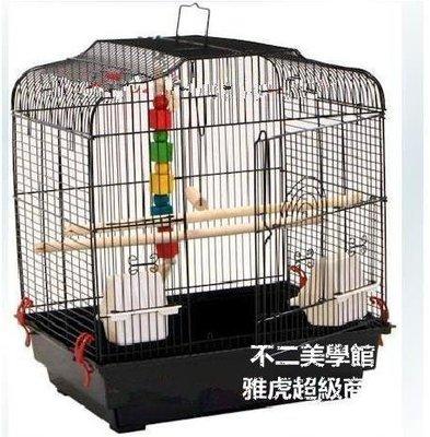 【格倫雅】^平頂鹦鹉籠 鳥籠 群鳥籠 鹦鹉 虎皮鹦鹉 各種鳥類 通用鳥籠大號43333