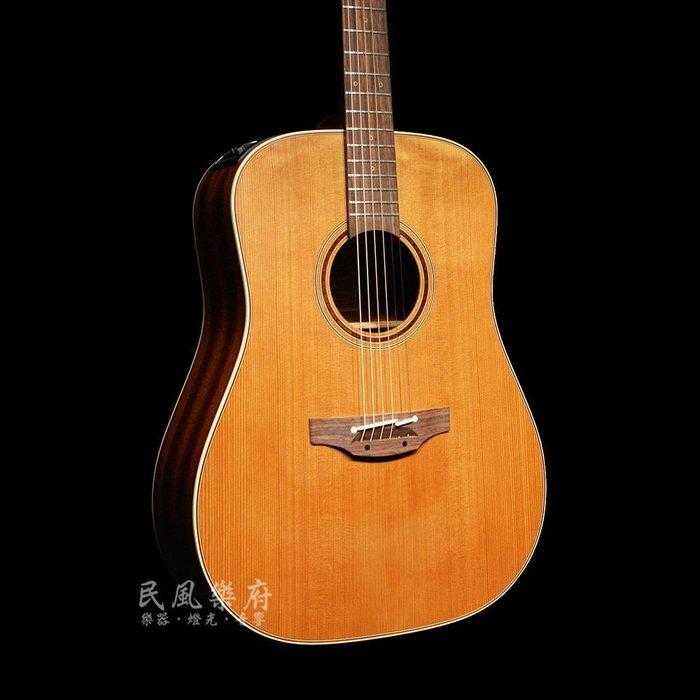 《民風樂府》Takamine P3D 日本廠手工製作 雪松單板 電木民謠吉他 舞台用專業拾音系統 可無息分期 全新到貨