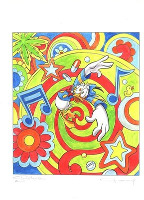 迪士尼Disney 藝術家:Tony Fernandez----synesthesia Pop Art Collecti