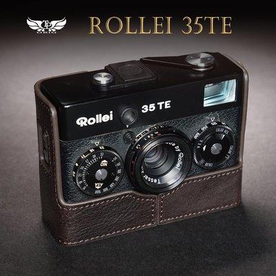 【台灣TP】適用於  Rollei 35TE 35 35S 35T 35SE  真皮底座  牛皮 相機包 皮套
