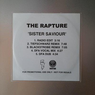 【裊裊影音】The Rapture癡迷樂團-Sister Saviour宣傳單曲CD-DFA/Vertigo發行