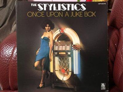 The stylistics once upon a juke box 日版 LP 二手 黑膠唱片