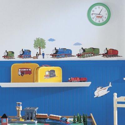 【現貨】美國 Roommates 壁貼 ❤ 湯瑪士小火車 列車出發 Thomas The Tank 1035