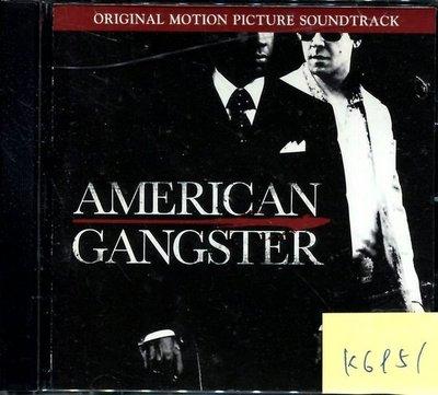 *真音樂* AMERICAN GANGSTER 二手 K6951 (封面底破.歌詞破損) (大降價.下標賣2)