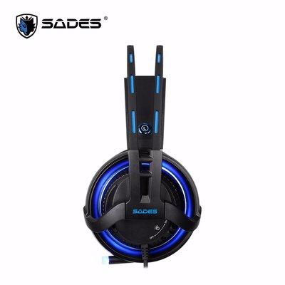 ☆. 高雄市耗材填充供印站 .☆SADES Diablo 暗黑鬥狼RGB Realtek 電競耳麥 7.1 (USB)