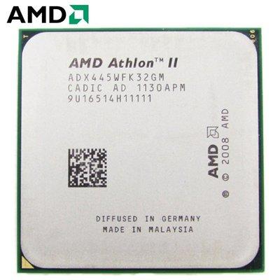 【偉鑫資訊】AMD Athlon II X2 ( 445 / 215 / 220 ) AM3腳位 CPU 處理器