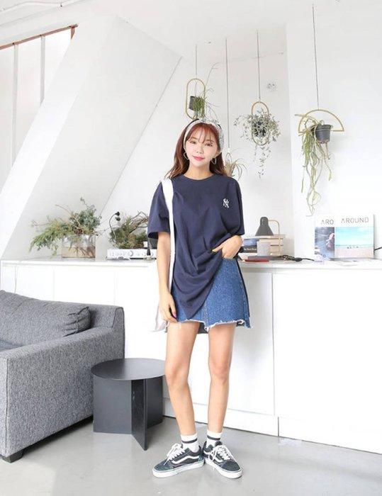 【韓國姐妹淘】韓國代購 韓版 短袖圓領潮T T恤 運動衫 2018