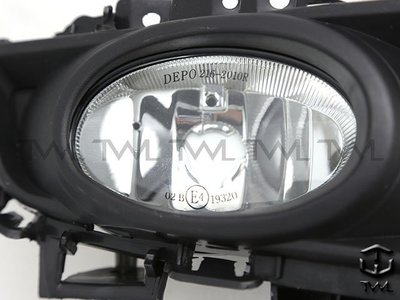 《※台灣之光※》全新馬自達 馬自達3 馬3 MAZDA3 07 08 09年原廠型1.6專用霧燈單邊含蓋