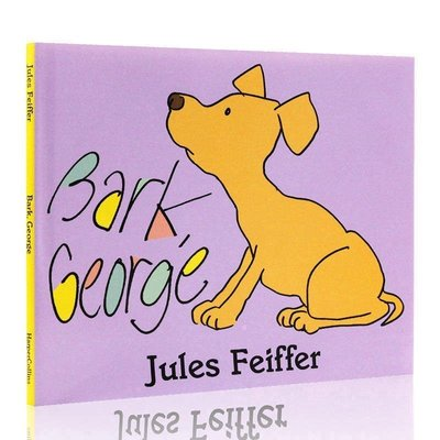 有料百貨~Bark George July Feiffer 英文繪本 精裝圖畫書 100本好書推薦入門 吳敏蘭繪本12交