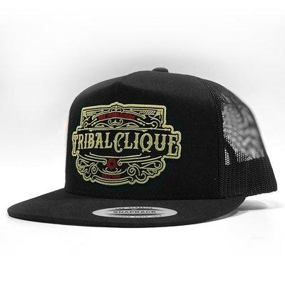 【DOOBIEST】TRIBAL / PLAQUE – TRUCKER SNAPBACK CAP
