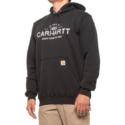 南◇2020 10月 Carhartt 103468  Est 1889 黑色 連帽 帽TEE 帽T 工裝 卡哈 美版
