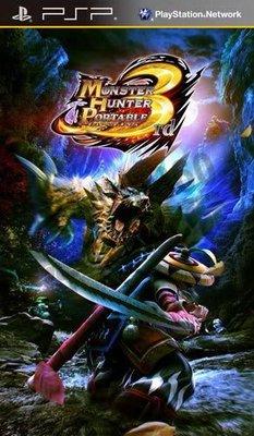 【二手遊戲】PSP 魔物獵人 攜帶版 3 MONSTER HUNTER PORTABLE 3RD 日文版【台中恐龍電玩】