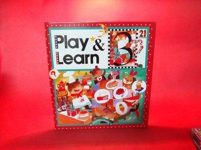 【愛悅二手書坊 O-10】Play & Learn 6 21世妃兒童美語樂園 第3冊 讀本