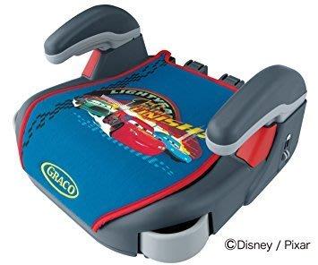 日本代購直送到府~GRACO Compact Junior幼兒成長型輔助汽車安全座椅-卡通車/麥坤/CARS/迪士尼