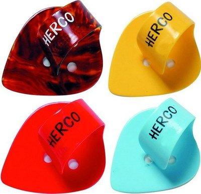 ☆ 唐尼樂器︵☆ Herco Flat/ Thumbpick 古典吉他/民謠吉他/電吉他用姆指 Pick 彈片