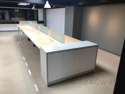 【耀偉】JRP系統工作站 (辦公桌/辦公屏風-規劃施工-拆組搬遷工程-組合隔間-水電網路)8