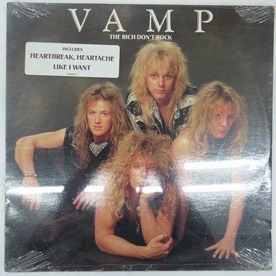 合友唱片 VAMP THE RICH DON'T ROCK (1989) 黑膠唱片 LP 面交 自取
