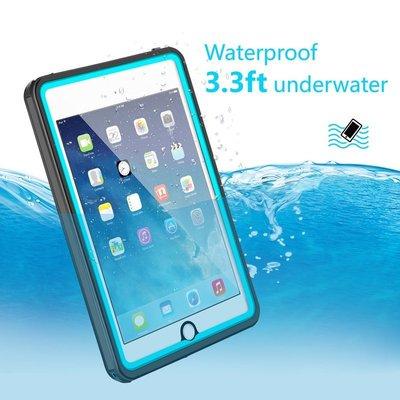 黑藍色 ※台北快貨※美國原裝MeritCase IP-68防水保護套**iPad Mini 4用