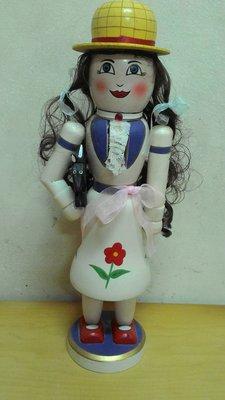 胡桃鉗公仔 36公分娃娃系列 (1朵花裙)