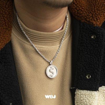 卡哇伊~WBJ訂製珠寶 比特幣 bitcoin 美金 美金吊墜 比特幣吊墜 非if&co
