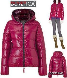 喬瑟芬【DUVETICA】現貨到~2012秋冬 經典 THIA  胭脂紅 RUBINO*545 羽絨 連帽 夾克/外套(女38~44號)