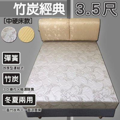 【套房出租專用】【嘉新床墊】標準單人3...