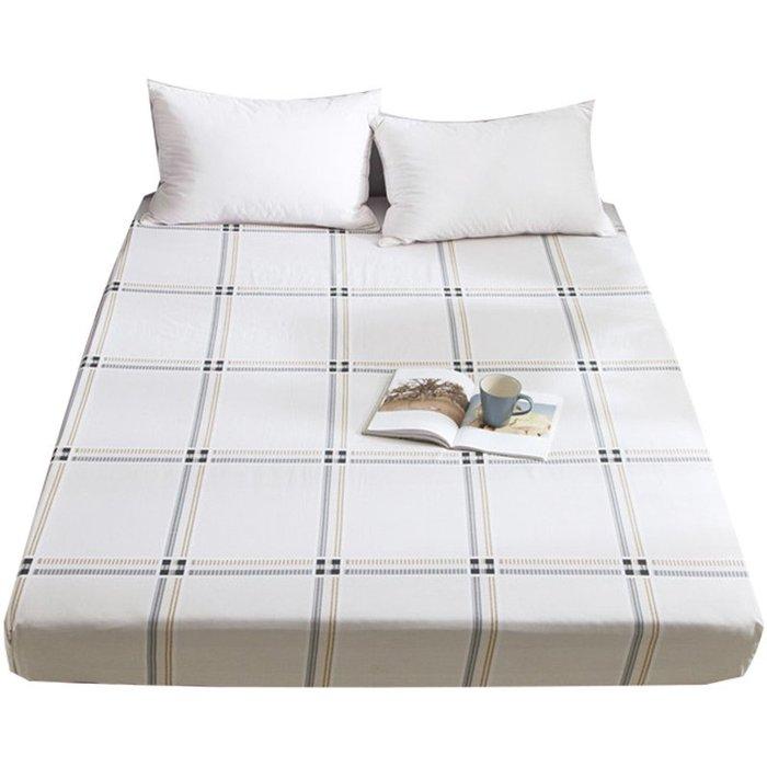 創意 可愛 床笠南極人全棉床笠簡約床墊套褥子套1.8米床單床笠1.5m榻榻米保護套