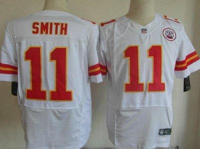 NFL橄欖球球衣 Kansas City Chiefs 堪薩斯酋長 11# SMITH 精英版 ycwk608